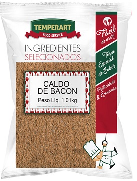 CALDO PO TEMPERART 1.01KG BACON