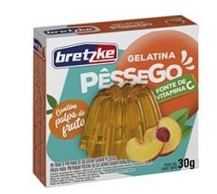 GELATINA BRETZKE  30G PESSEGO