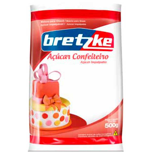 ACUCAR CONFEIT IMPALPAVEL 500G BRETZKE