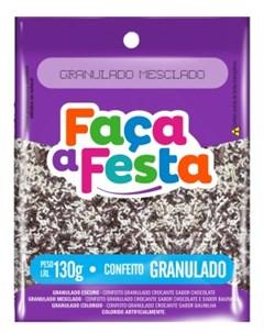 F FESTA CONFEITO 130G GRANULADO MESCLAD