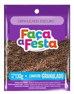 F FESTA CONFEITO 130G GRANULADO ESCURO