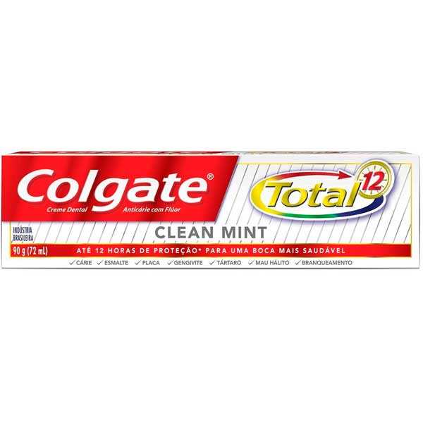 CD COLGATE TOTAL 12 90G CLEAN MINT