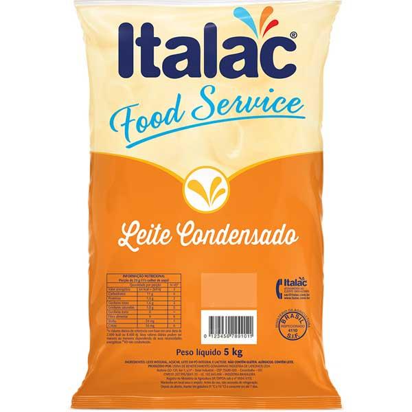 LEITE COND ITALAC BAG 5KG S DESN 6%G