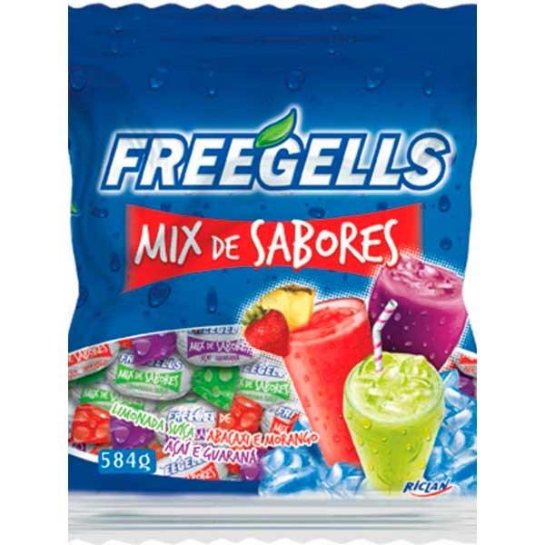 BALA GELADA 584G FREEGELLS MIX SABORES