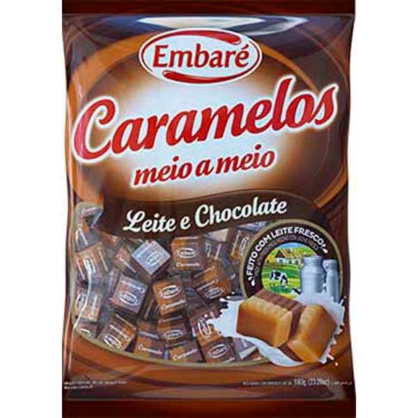 CARAMELO EMBARE LEITE/CHOCOLATE 660G