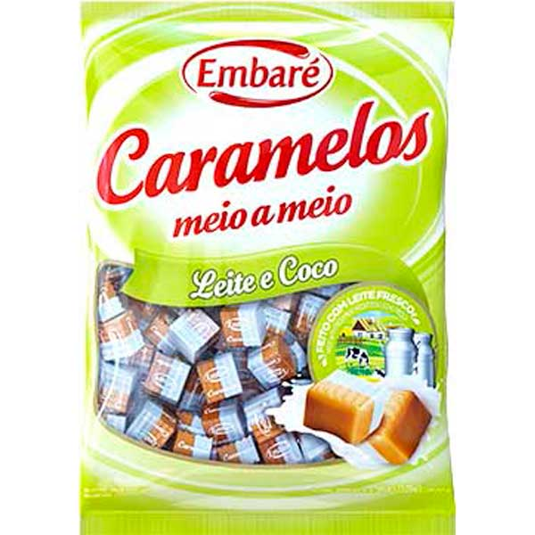 CARAMELO EMBARE LEITE/COCO 660G