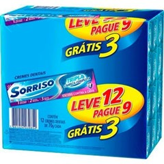 CD SORRISO TRIPLA 70G L COMPLETA L12 P9