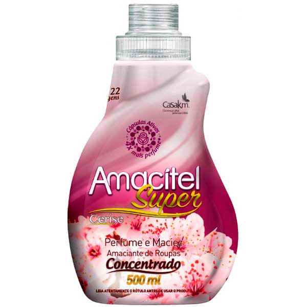 AMACIANTE AMACITEL CONCENTR 500ML CERISE