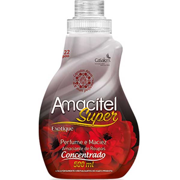 AMACIANTE AMACITEL CONCENTR 500ML EXOTIQ