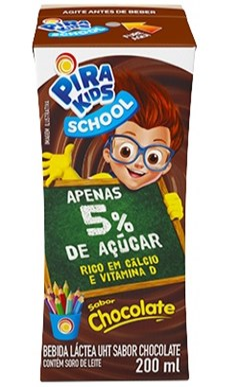 BEB LAC PIRAKIDS SCHOOL 200ML CHOCOLATE