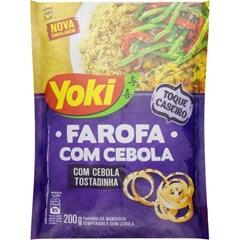 FAROFA PRONTA YOKI 200G COM CEBOLA