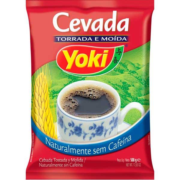 CEVADA TORRADA MOIDA YOKI 500G