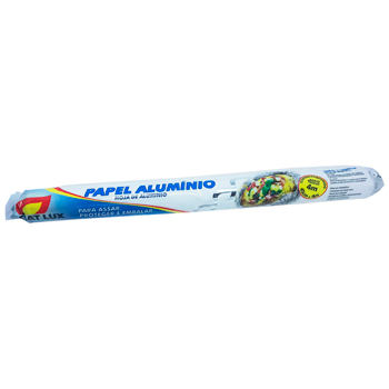 PAPEL ALUMINIO FIAT LUX 45CM X 4M