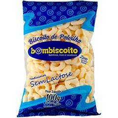 BISC BOMBISCOITO POLVILHO 100G S/LACTOS