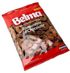 BISC ROSQUINHA BELMA 350G CHOCOLATE