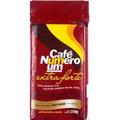 CAFE PO VACUO 250G NUMERO UM EXTRA FORTE