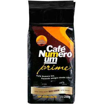 CAFE ESP PO VACUO 250G NUMERO UM PRIME