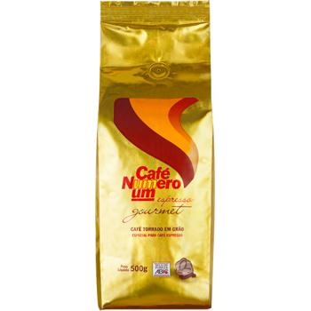 CAFE ESP GRAO PCT 500G NUMERO UM GOURMET