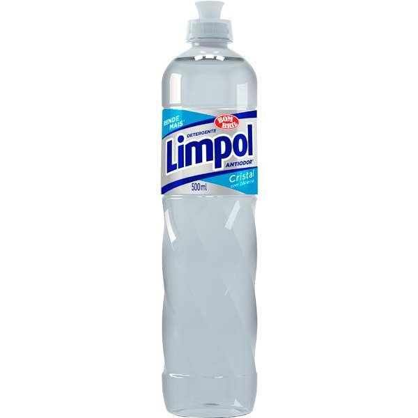 LAVA LOUCA DET LIQ LIMPOL 500ML CRISTAL