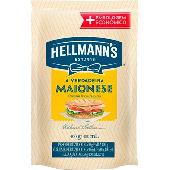 MAIONESE HELLMANN S DOY PACK 400G