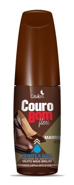 COURO BOM LIQUIDO 40ML FLEX MARRON