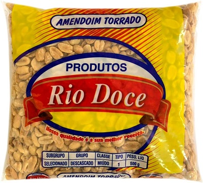 AMENDOIM TORRADO RIO DOCE 500G BANDA