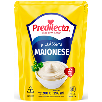 MAIONESE PREDILECTA DOY PACK 200G