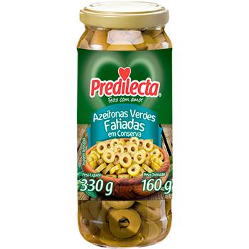 AZEITONA VD VERDE PREDILECTA FAT 160G