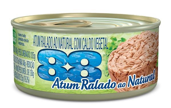 ATUM 88 RALADO 140G AO NATURAL