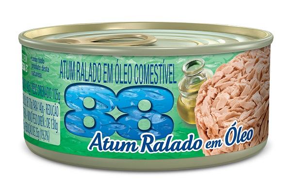 ATUM 88 RALADO 140G EM OLEO COMESTIVEL