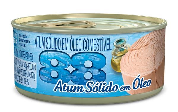 ATUM 88 SOLIDO 140G EM OLEO COMESTIVEL