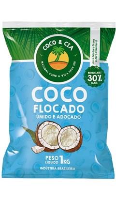 COCO FLOCADO 1KG COCO&CIA UMIDO ADOCADO