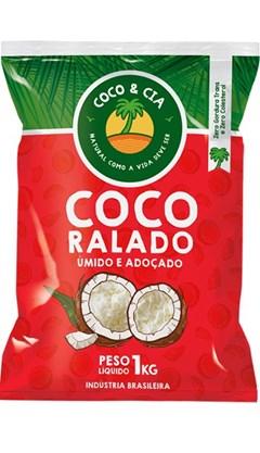 COCO RALADO 1KG COCO&CIA UMIDO ADOCADO