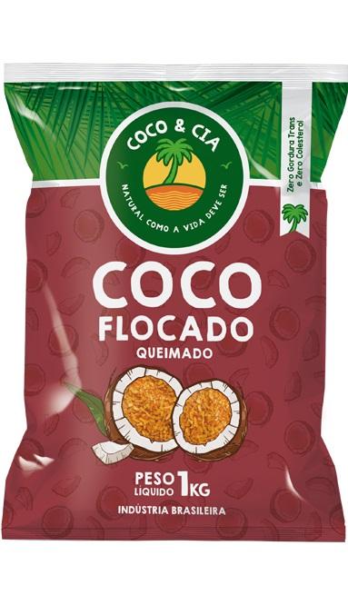 COCO FLOCADO 1KG COCO&CIA QUEIMADO