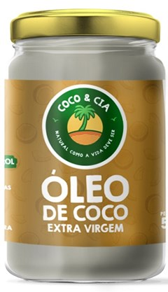 OLEO COCO EXT VIRGEM COCO&CIA VD 500ML