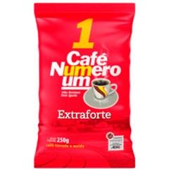 CAFE PO PCT 250G NUMERO UM EXTRA FORTE