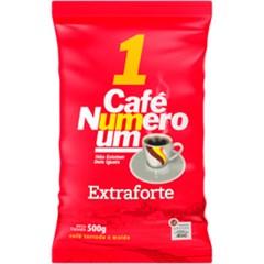 CAFE PO PCT 500G NUMERO UM EXTRA FORTE