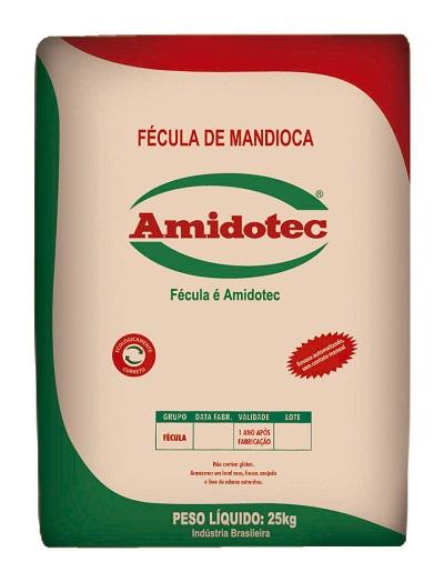 FECULA MANDIOCA AMIDOTEC 25KG