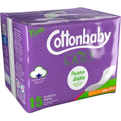 ABS COTTONBABY PROT DIARIO LADY S/AB 15N