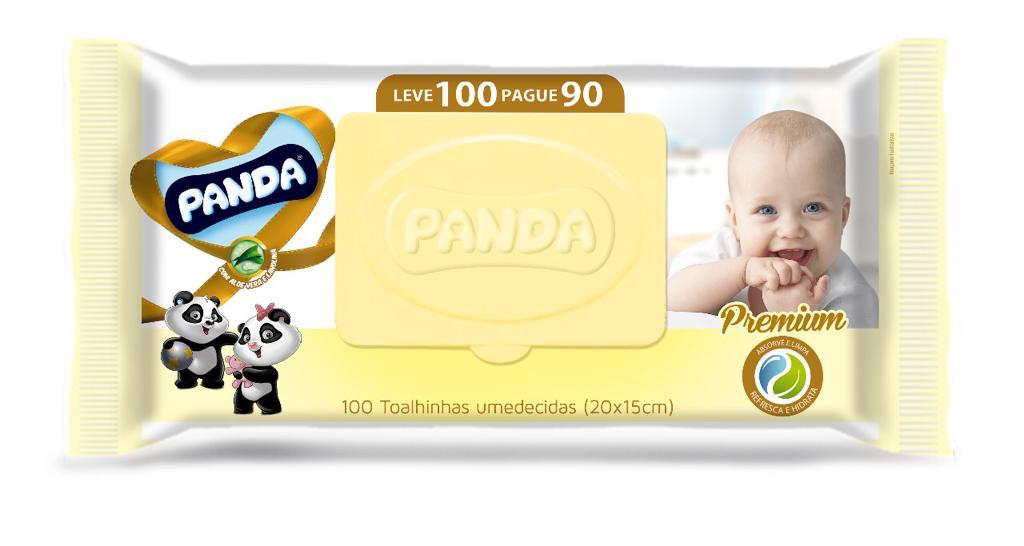 TOALH UMED INF PANDA PREMIUM LV100 PG90