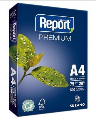 PAPEL A4 210X297 500UN REPORT 75GR