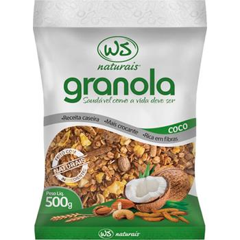 GRANOLA WS  500G C/COCO