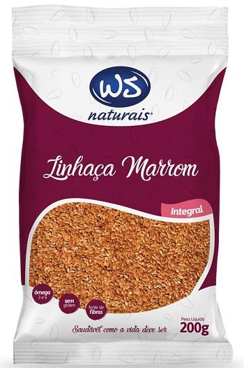 SEMENTE LINHACA MARRON WS 200G
