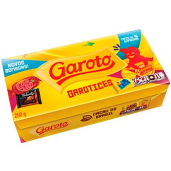 BOMBOM SORTIDO 250 G GAROTO