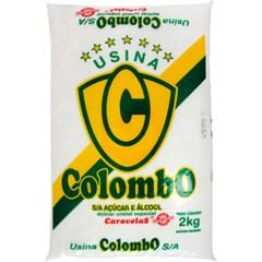 ACUCAR CRISTAL CARAVELAS COLOMBO 2KG