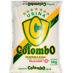 ACUCAR CRISTAL CARAVELAS COLOMBO 5KG