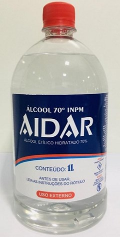 ALCOOL LIQ 70,0 G 1L AIDAR NEUTRO