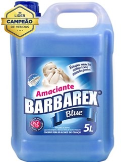 AMACIANTE BARBAREX 5L BLUE AZUL