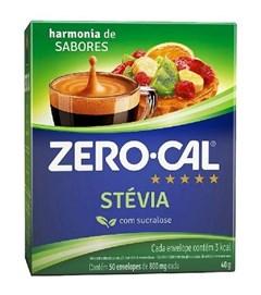 ADOC ZERO CALL PO STEVIA 40G 50 ENVEL