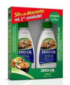 ADOC ZERO CALL LIQ STEVIA KIT 2X80ML